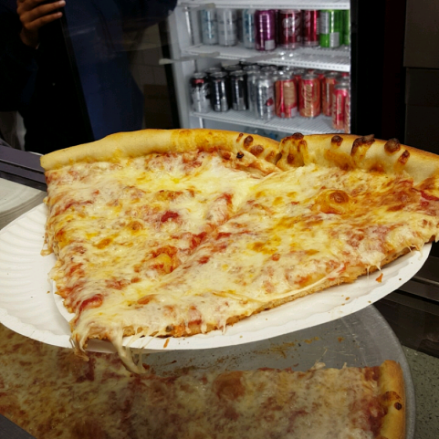 Yum! nothing better than NYC Pizza!